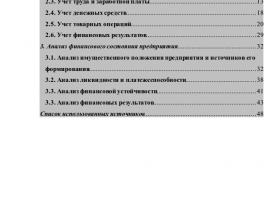РФЭИ преддипломная практика Отчет по практике в РФЭИ на заказ Первый лист содержания готового отчета по преддипломной практике РФЭИ